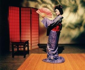 Photograph by David van Royen Kaori Hamamoto in Call Me Komachi.
