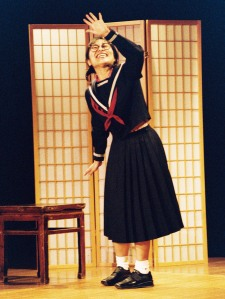 Photograph by David van Royen Kaori Hamamoto in Christie Nieman's Call Me Komachi.